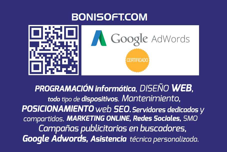 Agencia SEO BONISOFT. Contacto 24h